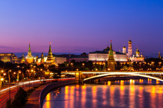 Moscow Kremlin Wallpaper for 1600x1200