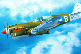 Curtiss P 40 Warhawk Wallpaper for Android, iPhone and iPad