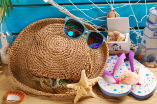 Summer Accessories sfondi gratuiti per Samsung Galaxy Ace 3