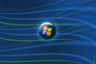 Blue Windows Vista Picture for Android, iPhone and iPad
