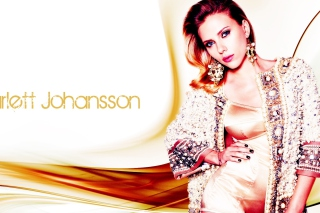 Scarlett Johansson Glamorous Wallpaper for Android, iPhone and iPad