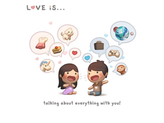 Love Is - Talking About Everything With You for Nokia Asha 200