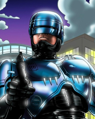 Robocop Background for 240x320