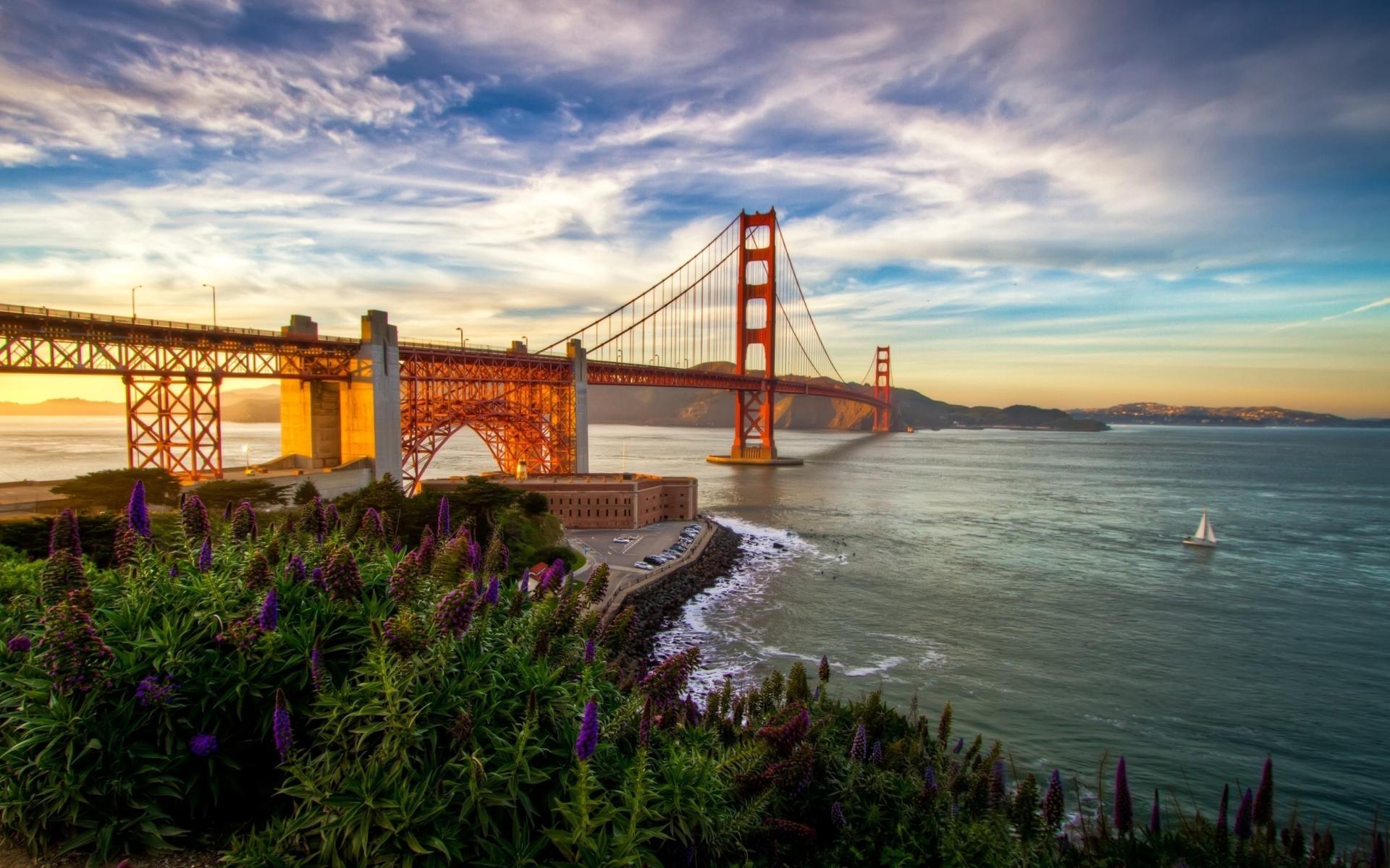 Golden Gate Bridge para Widescreen Desktop PC 1920x1080 Full HD