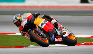 Malaysian Motorcycle Grand Prix Wallpaper for Nokia Asha 205