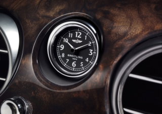 Bentley Continental - Breitling Clock papel de parede para celular