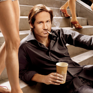 Californication TV Series with David Duchovny sfondi gratuiti per iPad mini