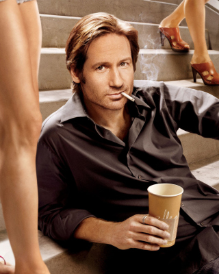 Californication TV Series with David Duchovny Background for Nokia Asha 306