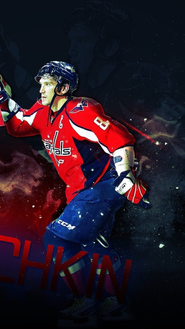 Alexander Ovechkin for Nokia C5-05