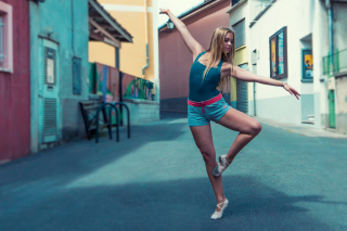 Street Acrobatic Dance Wallpaper for Android, iPhone and iPad