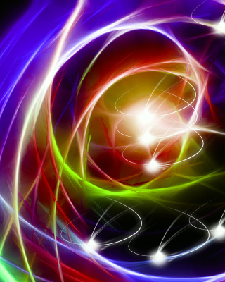 Abstraction chaos Rays Wallpaper for HTC Titan