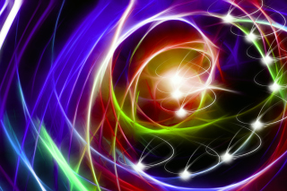 Abstraction chaos Rays Wallpaper for Android 2560x1600