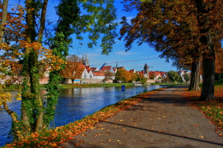 Ulm City in Baden Wurttemberg and Bayern Background for Android, iPhone and iPad