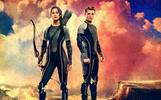 Katniss & Peeta - Hunger Games Catching Fire Picture for Android, iPhone and iPad