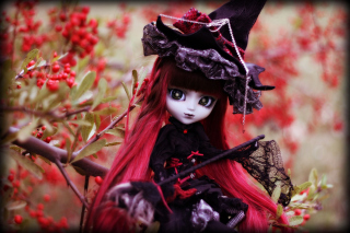 Gothic Doll sfondi gratuiti per cellulari Android, iPhone, iPad e desktop