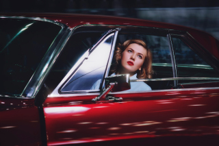 Model In Luxury Car - Obrázkek zdarma