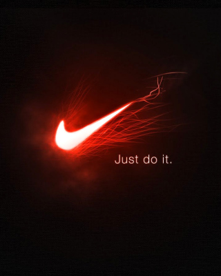 Nike Advertising Slogan Just Do It - Obrázkek zdarma pro Nokia C-5 5MP