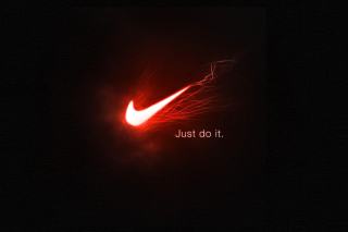 Nike Advertising Slogan Just Do It - Obrázkek zdarma pro 220x176