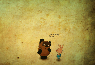 Free Russian Winnie The Pooh Picture for Android, iPhone and iPad