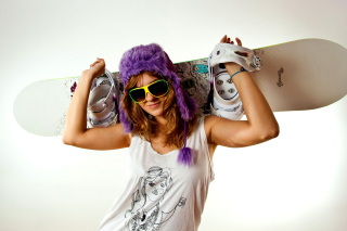 Snowboard Equipment Picture for Android, iPhone and iPad