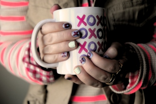 Xoxo Cup Wallpaper for 800x480