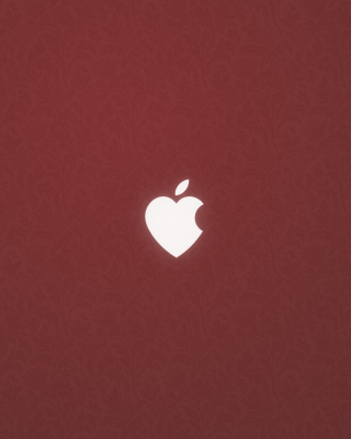 Apple Love Wallpaper for 176x220
