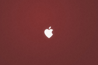 Apple Love Background for Nokia Asha 200