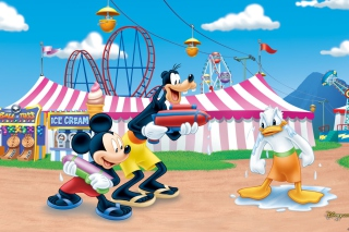 Mickey Background for 1280x1024
