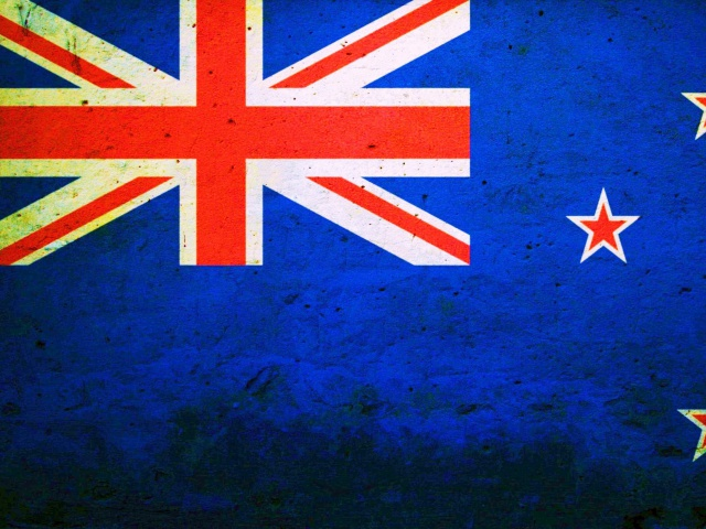 Screenshot №1 pro téma Flag of New Zealand 640x480
