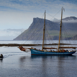 Bay Faroe Islands, Denmark Wallpaper for iPad Air