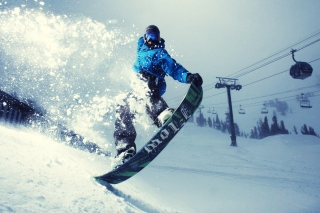 Snowboarder Picture for Android, iPhone and iPad