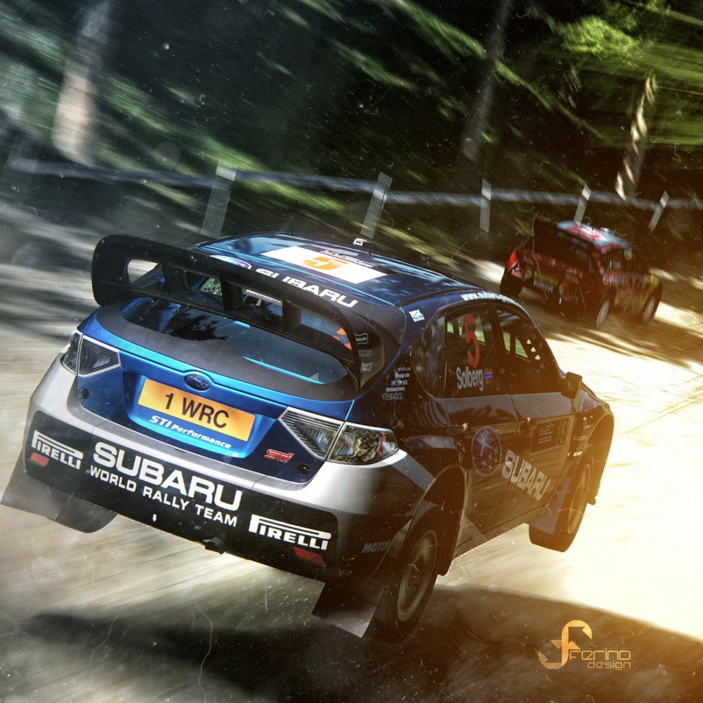 Gran Turismo 5 Rally Game wallpaper 1024x1024