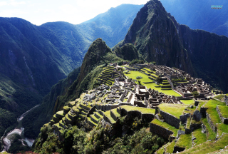 Machu Picchu Peru Wallpaper for Android, iPhone and iPad