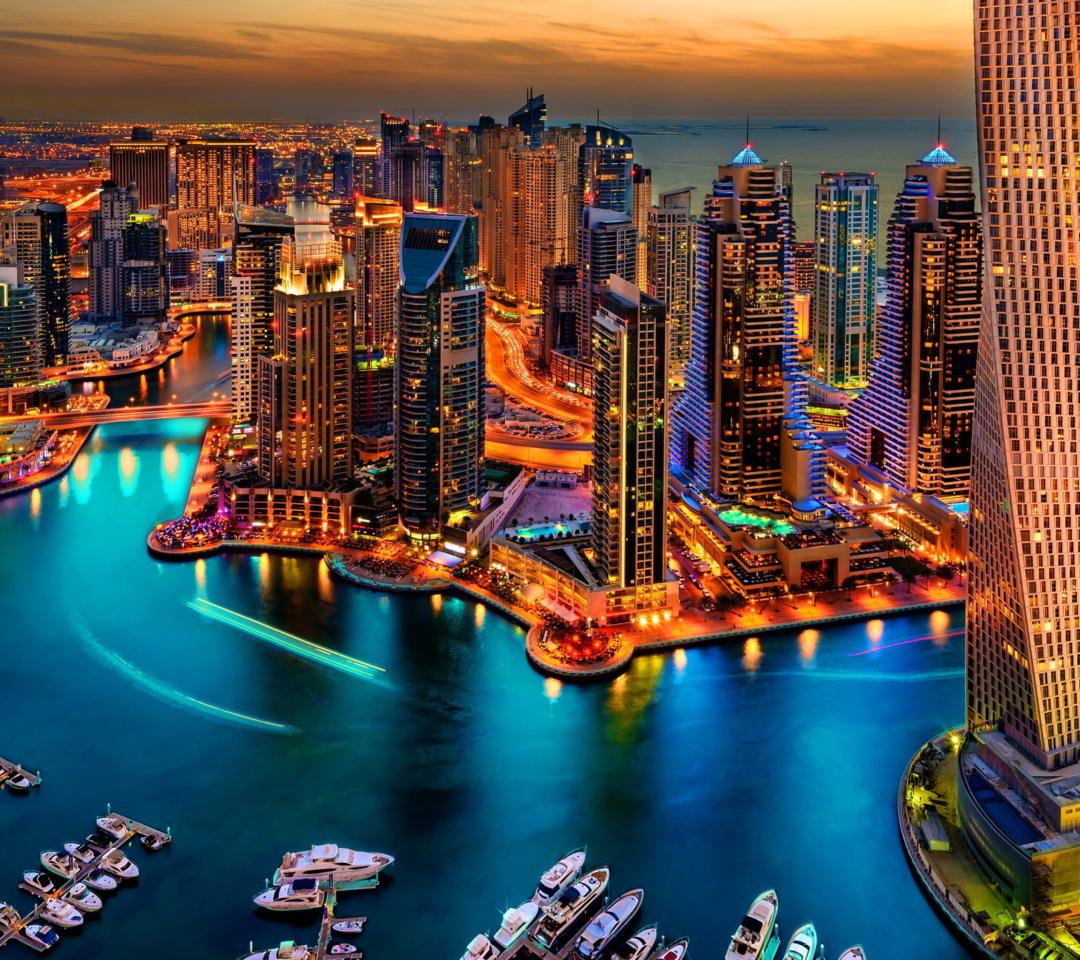 Dubai Marina And Yachts para Motorola RAZR XT910