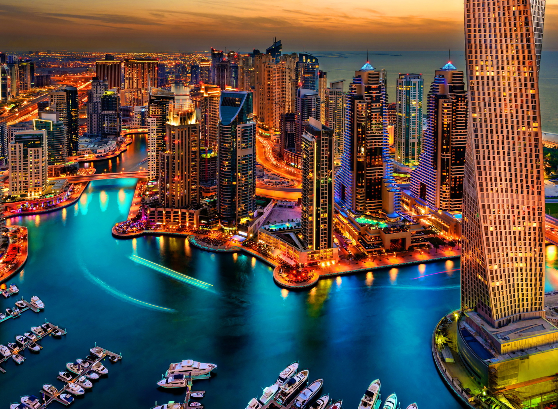 Screenshot №1 pro téma Dubai Marina And Yachts 1920x1408