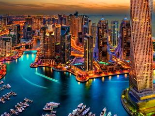 Dubai Marina And Yachts para Nokia X2-01