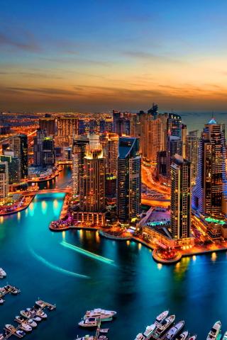Dubai Marina And Yachts para Huawei G7300