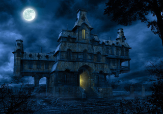 A Haunted House Picture for Android, iPhone and iPad