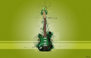 Music Guitar Wallpaper for Android, iPhone and iPad