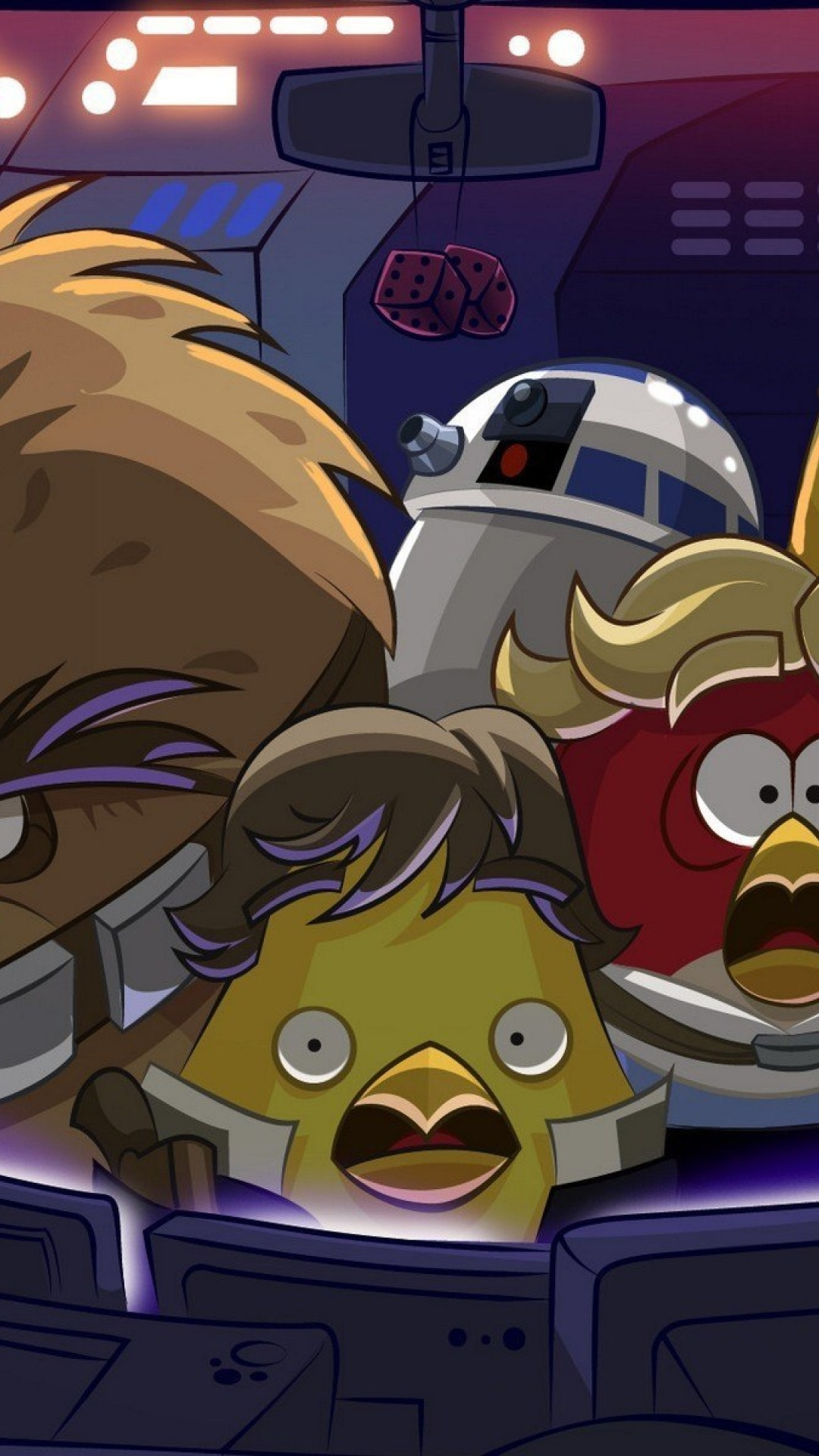 Screenshot №1 pro téma Angry Birds Star Wars 1080x1920