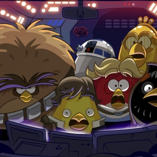 Angry Birds Star Wars Wallpaper for 128x128