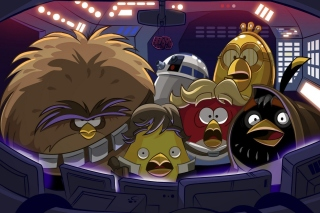 Angry Birds Star Wars Wallpaper for HTC Desire HD
