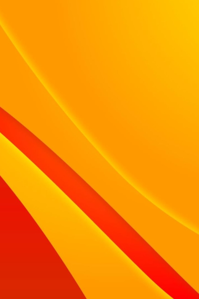 Screenshot №1 pro téma Bends orange lines 640x960