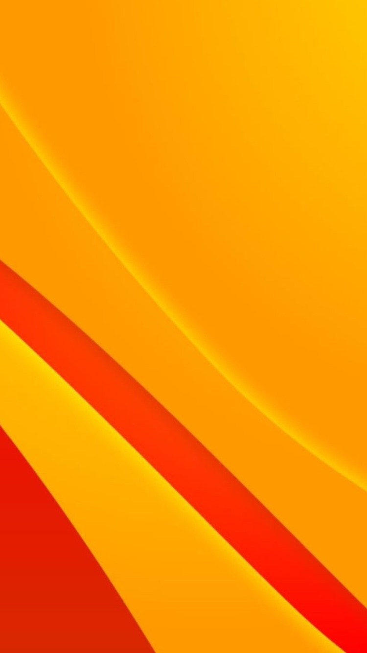 Screenshot №1 pro téma Bends orange lines 750x1334