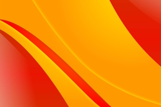 Bends orange lines Wallpaper for Android, iPhone and iPad