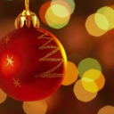Christmas Decorations wallpaper 128x128