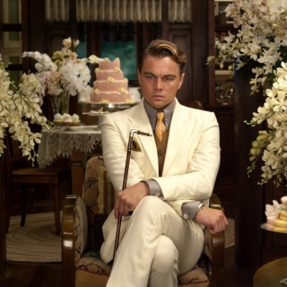 Leonardo DiCaprio from The Great Gatsby Movie - Obrázkek zdarma pro 208x208