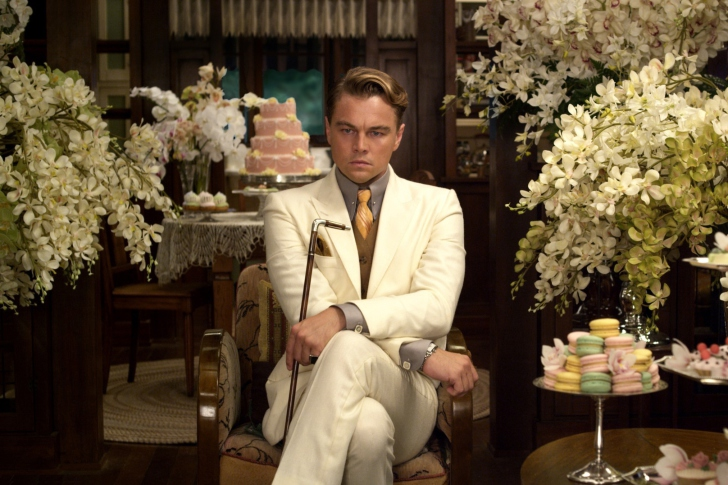 Screenshot №1 pro téma Leonardo DiCaprio from The Great Gatsby Movie
