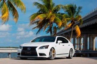 Lexus IS F Sport Wallpaper for Android, iPhone and iPad
