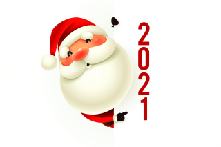 New Year 2021 Сard Background for Samsung Google Nexus S